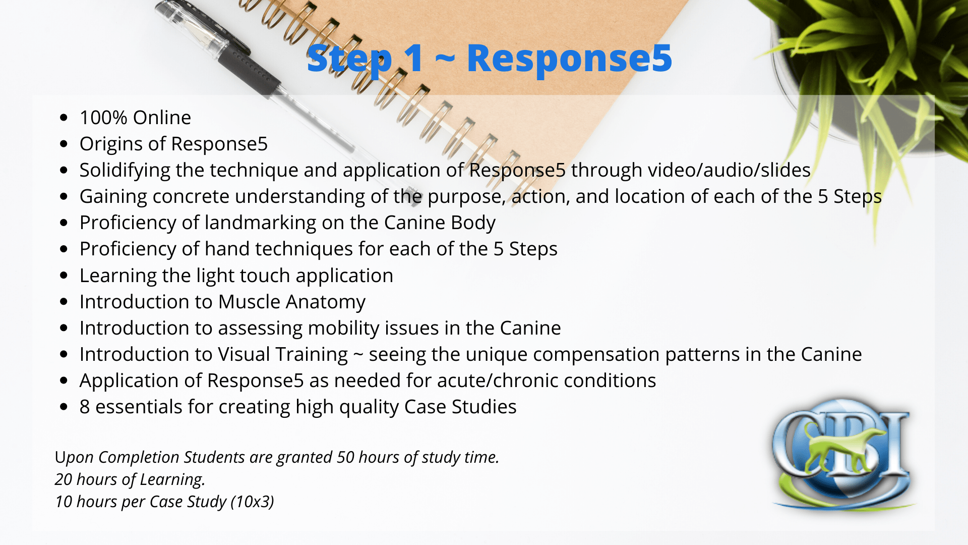 Canine Bowen Institute Response5